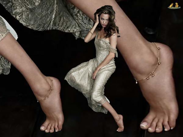 Angelina jolie has a foot fetish, erotic dancing class